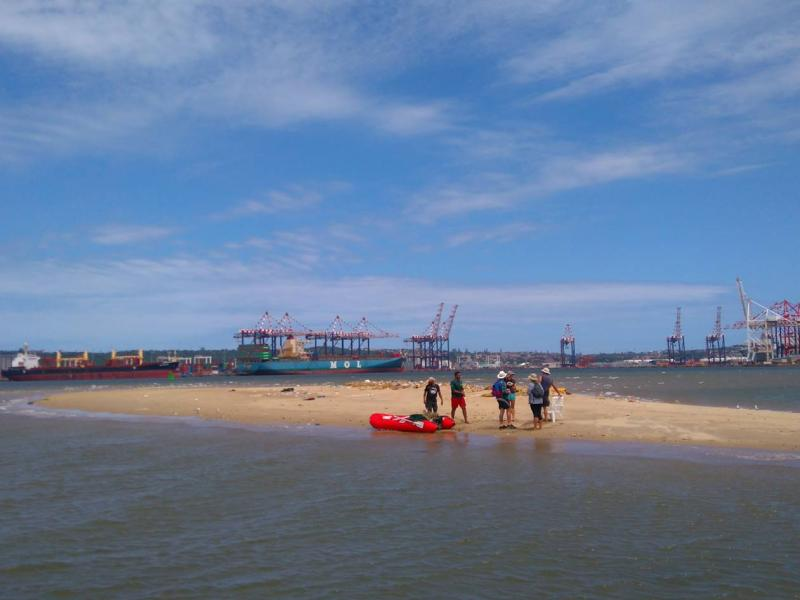 Assessment of ecosystem goods and services associated with Durban Bay.